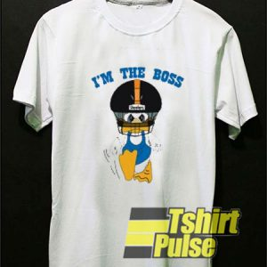 Duck Hodges I'm The Boss t-shirt for men and women tshirt