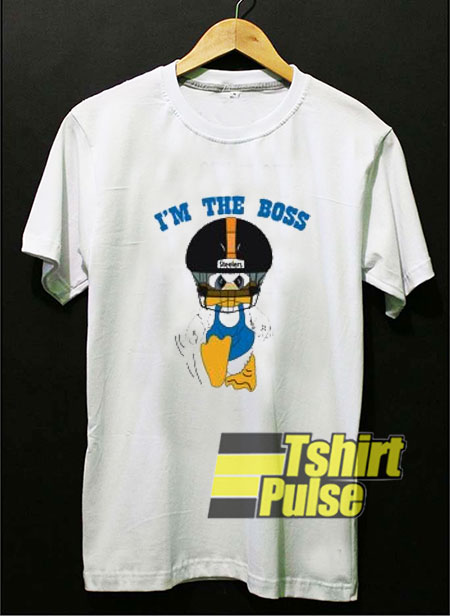 Duck Hodges I'm The Boss t shirt for men and women tshirt