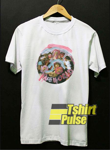 Fake World Graphic t shirt for men and women tshirt
