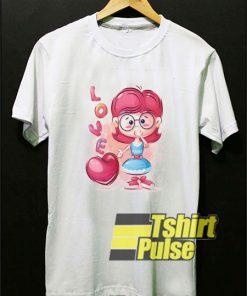 Funny Lovely Cartoon t-shirt for men and women tshirt
