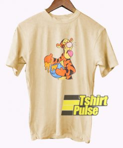 Funny Tiger Cartoon t-shirt for men and women tshirt