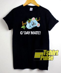 G'Day Mate Koala Bear t-shirt for men and women tshirt