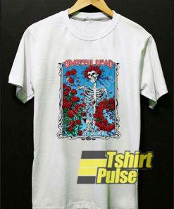 Grateful Dead Bertha Wheel & Roses t-shirt for men and women tshirt
