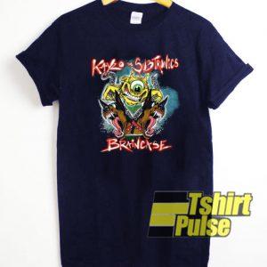Kayzo x Subtronics Braincase t-shirt for men and women tshirt