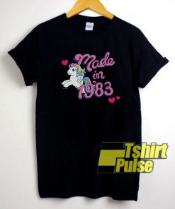 Little Pony Made In 1983 t-shirt for men and women tshirt