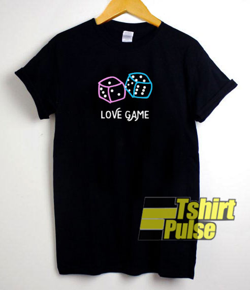 Love Game Dice t-shirt for men and women tshirt
