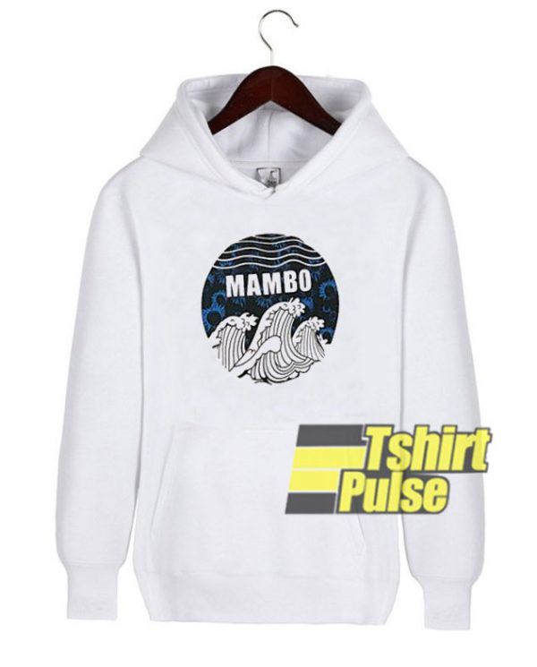 Mambo Wave Graphic hooded sweatshirt clothing unisex hoodie