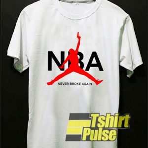 NBA Never Broke Again t-shirt for men and women tshirt