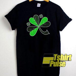 Shamrock Art t-shirt for men and women tshirt
