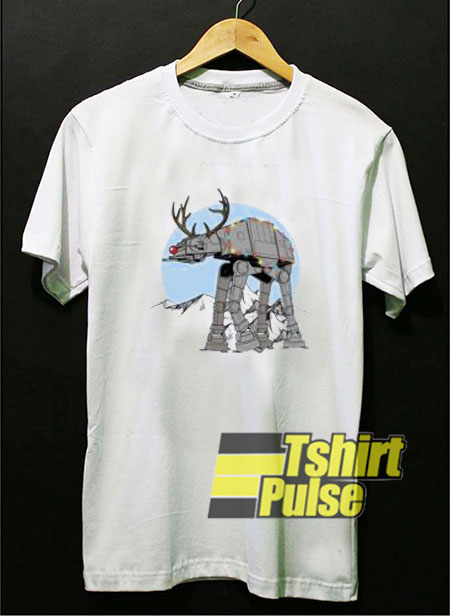 Star Wars Rudolph Atat Walker t-shirt for men and women tshirt