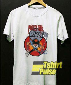 1985 Motley Crue Theatre t-shirt for men and women tshirt