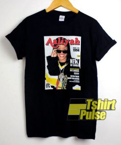 Aaliyah Graphic Poster t-shirt for men and women tshirt