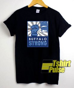 Buffalo Strong Poster t-shirt for men and women tshirt