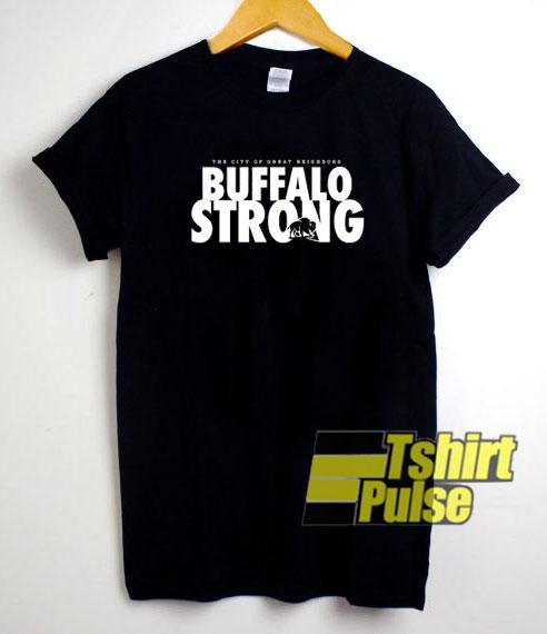 Buffalo Strong t-shirt for men and women tshirt