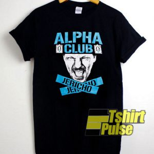 Chris Jericho Alpha Club t-shirt for men and women tshirt