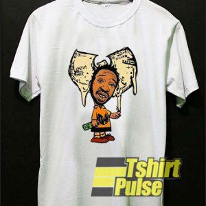 Ol' Dirty Bastard Wutang Cartoon t-shirt for men and women tshirt