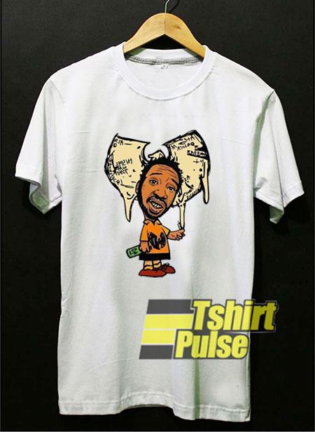 Ol' Dirty Bastard Wutang Cartoon t shirt for men and women tshirt