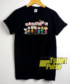 Peanuts Snoopy Characters t-shirt for men and women tshirt