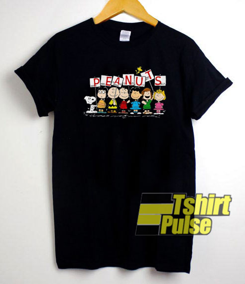 Peanuts Snoopy Characters t shirt for men and women tshirt