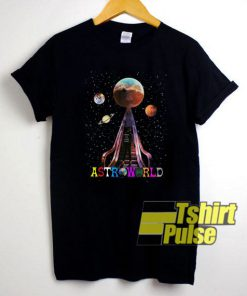 Pretty Travis Scott Astroworld t-shirt for men and women tshirt