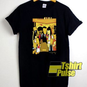 Pulp Fiction Aesthetic t-shirt for men and women tshirt