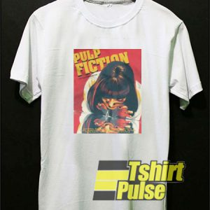 Pulp Fiction Movie Poster t-shirt for men and women tshirt