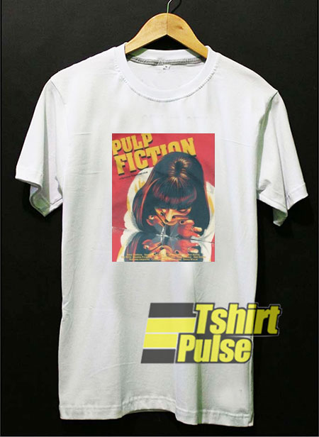 Pulp Fiction Movie Poster t shirt for men and women tshirt