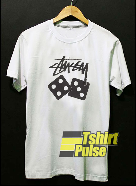 Stussy Dice t-shirt for men and women tshirt