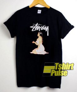Vintage 90's Stussy 8 Ball Graphic t-shirt for men and women tshirt
