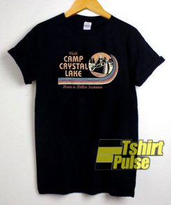Visit Camp Crystal Lake t-shirt for men and women tshirt