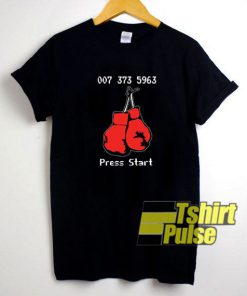 007 373 5963 Press Start t-shirt for men and women tshirt