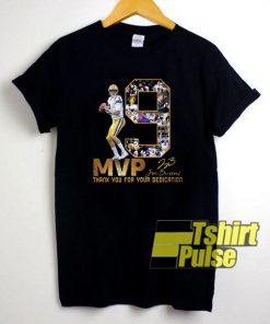 19 MVP Joe Burrow Signature t-shirt for men and women tshirt