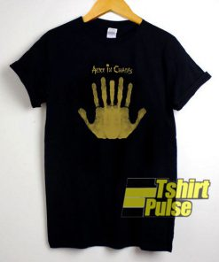 Alice In Chains Hand Sign t-shirt for men and women tshirt