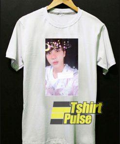 BTS Jin Filter Photos t-shirt for men and women tshirt