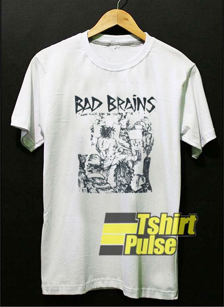 Bad Brains Punk Rock Minor t-shirt for men and women tshirt