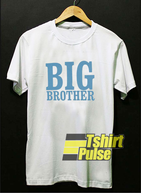Big Brother Letters t-shirt for men and women tshirt