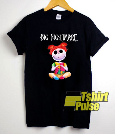 Big Nightmare Skeleton t-shirt for men and women tshirt