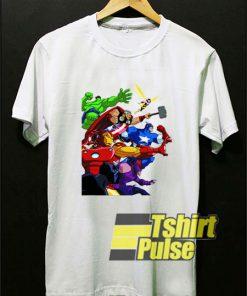 Cartoon Network Avengers t-shirt for men and women tshirt