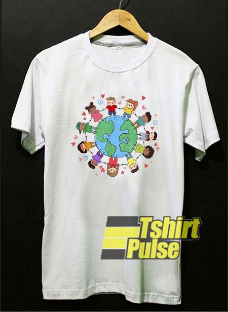 Children Around The World t-shirt for men and women tshirt