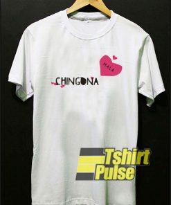 Chingona Heart t-shirt for men and women tshirt