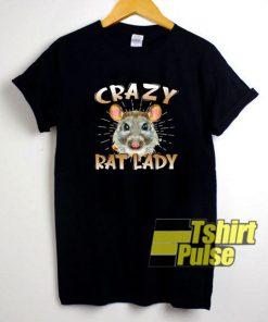 Crazy Rat Lady t-shirt for men and women tshirt