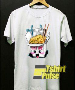 Cute Kawaii Fried Rice t-shirt for men and women tshirt