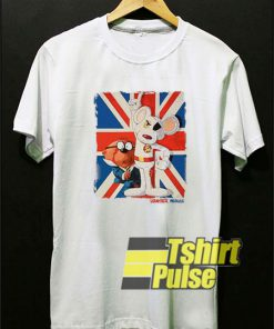 Danger Mouse And Penfold Usa Flag t-shirt for men and women tshirt