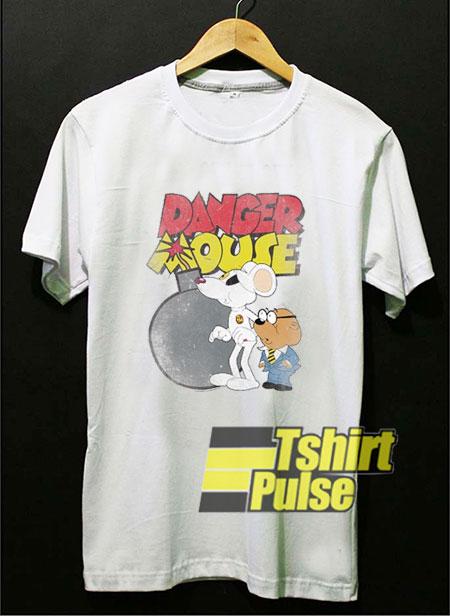 Danger Mouse Danger Bomb t-shirt for men and women tshirt