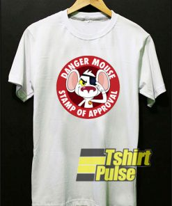 Danger Mouse Stamp of Approval t-shirt for men and women tshirt