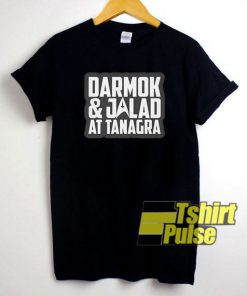 Darmok and Jalad at Tanagra Letters t-shirt for men and women tshirt