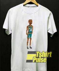 Dennis Rodman Art Cartoon t-shirt for men and women tshirt