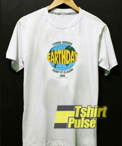 Earth Day Keep It Clean t-shirt for men and women tshirt