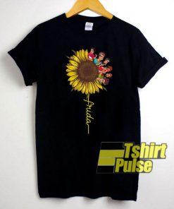 Frida Kahlo Sunflower t-shirt for men and women tshirt
