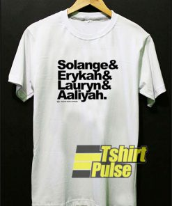 Funny Aaliyah And Friend t-shirt for men and women tshirt